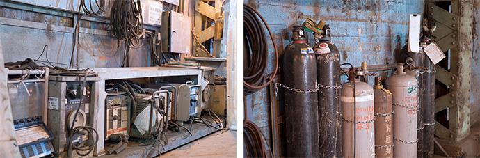 メンテナンス作業の主役、アーク溶接・ガス溶断